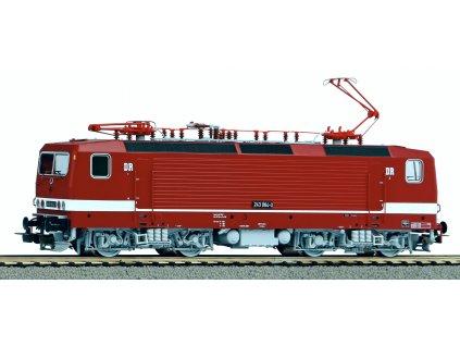 H0 - DCC/ZVUK elektrická lokomotiva BR 243 DR IV / PIKO 51716