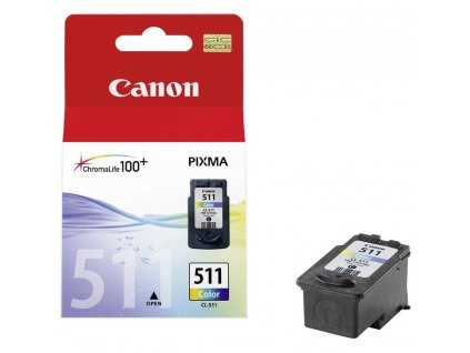 Cartridge Canon CL-511, barevný / CANON 35120236