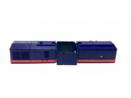 H0 - ND karosérie k dieselové lokomotivě 745 502-5 RailTrans (ze setu 51134) / ROCO 124026