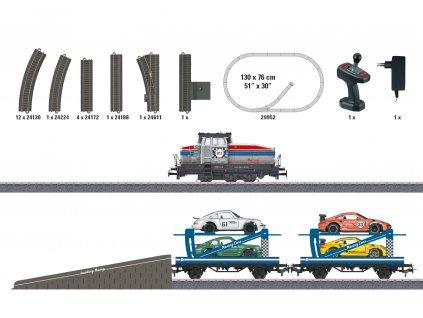 H0 - Dětský start set - Autotransportzug Märklin START UP / Marklin 29952