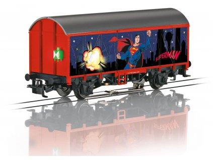 AC H0 - krytý nákladní vůz Superman Märklin START UP / Marklin 44825