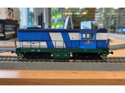 H0 - lokomotiva 743-002 KOCOUR ČD / MTB H0 743002