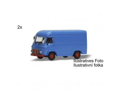 avia furgon nizka strecha 2ks h0 kit