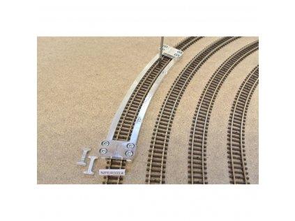 N -Šablona pro pokládku flexi kolejí PECO, 1ks, radius 333,4mm /N/PE/R333,4 KAmodel