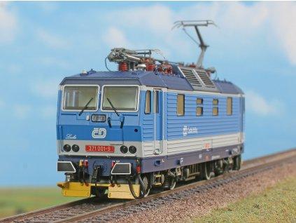 "DCC/ZVUK H0 - elektrická lokomotiva 371 001 ""LUCKA"" BASTARD, ČD, ep. V / A.C.M.E. 69554"