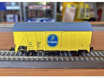 "TT - Krytý vůz Glm (Ztr), ""Chiquita"" žlutý, ČSD / LOCO 3045.2"