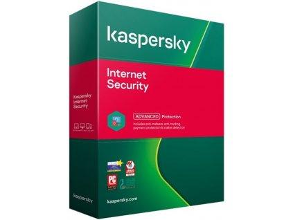 Antivir Kaspersky Internet Security na 1 rok / 1 PC