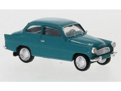 H0 - Škoda Octavia 1960, modrá / Brekina 27458