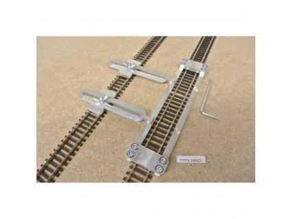 tt t l150 c1 sablona rovna pro pokladku flexi koleji tillig ttdelka 150mm 2 nastavitelne spojky