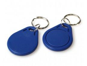 Čip, Klíčenka, Token, Keyfob Mifare S50 - modrá