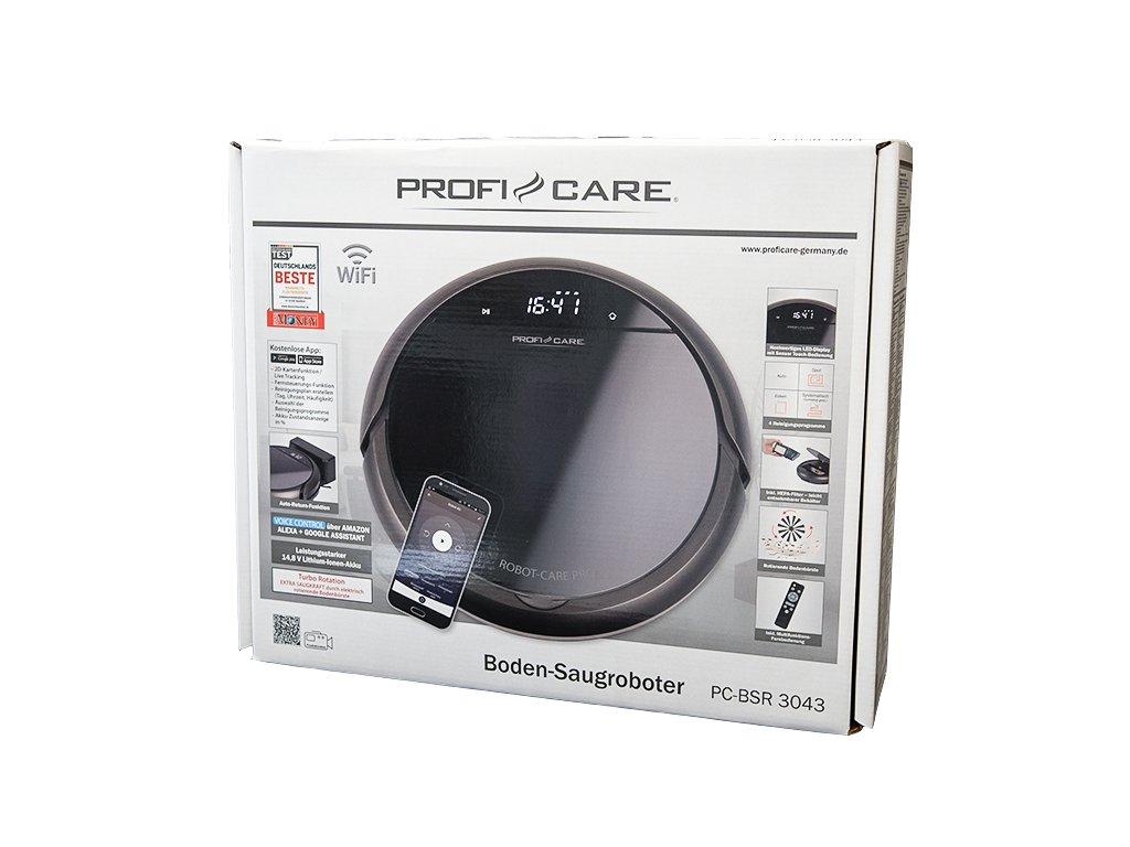 Robotický vysavač ProfiCare BSR 3043