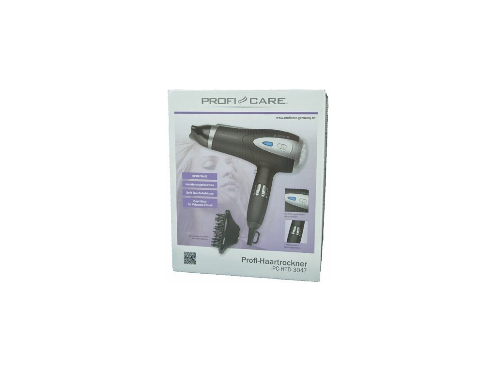 Vysoušeč vlasů ProfiCare PC-HTD 3047 černý