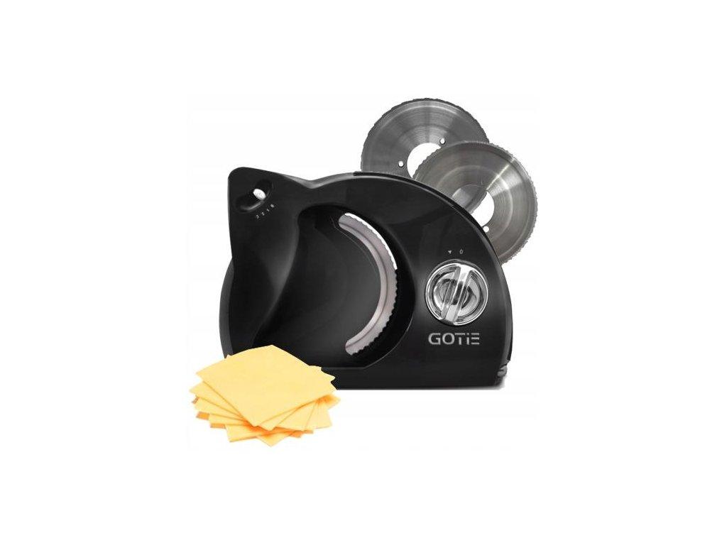 Kuchyňský kráječ GOTIE GSM-160C černý
