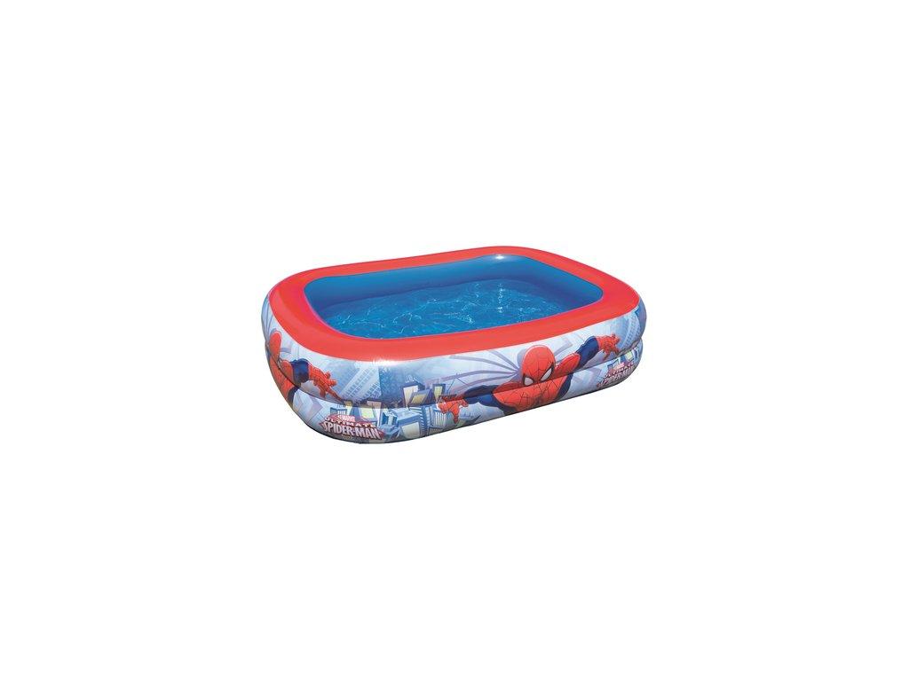 Nafukovací dětský bazén Bestway 98011 Spider-man 201x150x51 cm