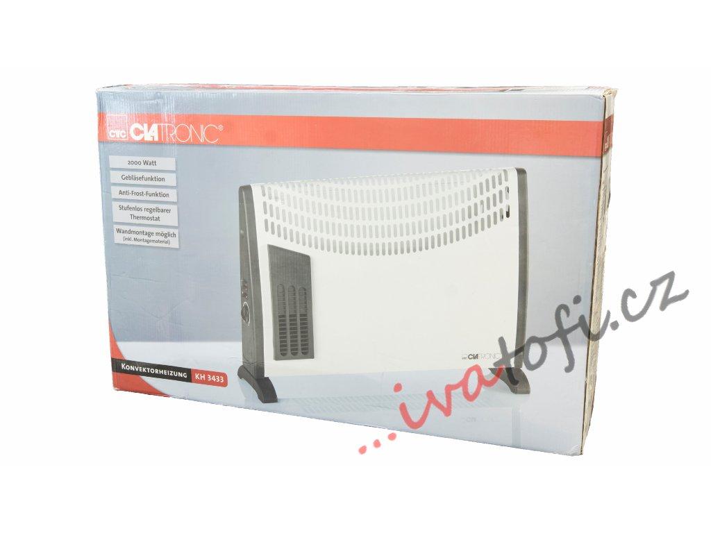 Elektrické konvektorové topení Clatronic KH 3433