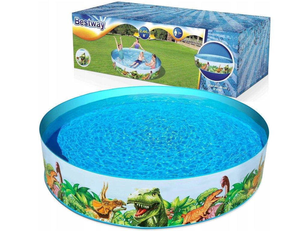 Bestway 55001 dětský bazének 244x46 cm