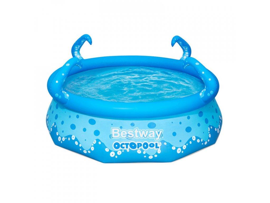 Nafukovací dětský bazén Bestway 57397 Octopool 274 x 274 x 76 cm