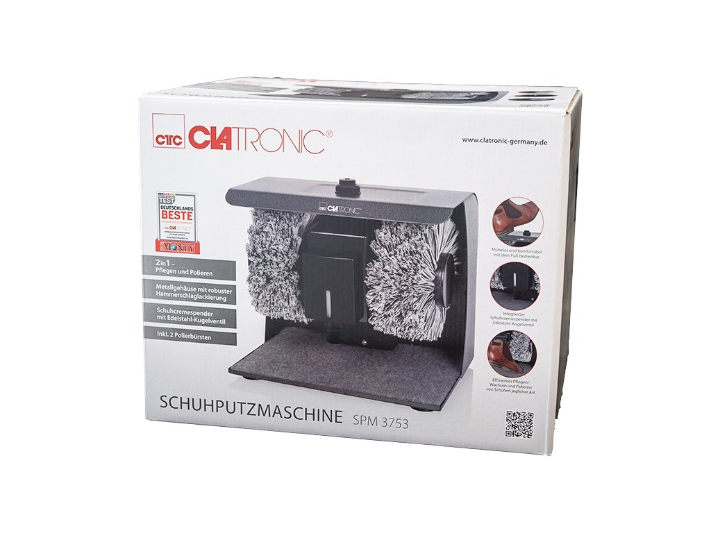 Stroj na čištění obuvi Clatronic SPM 3753