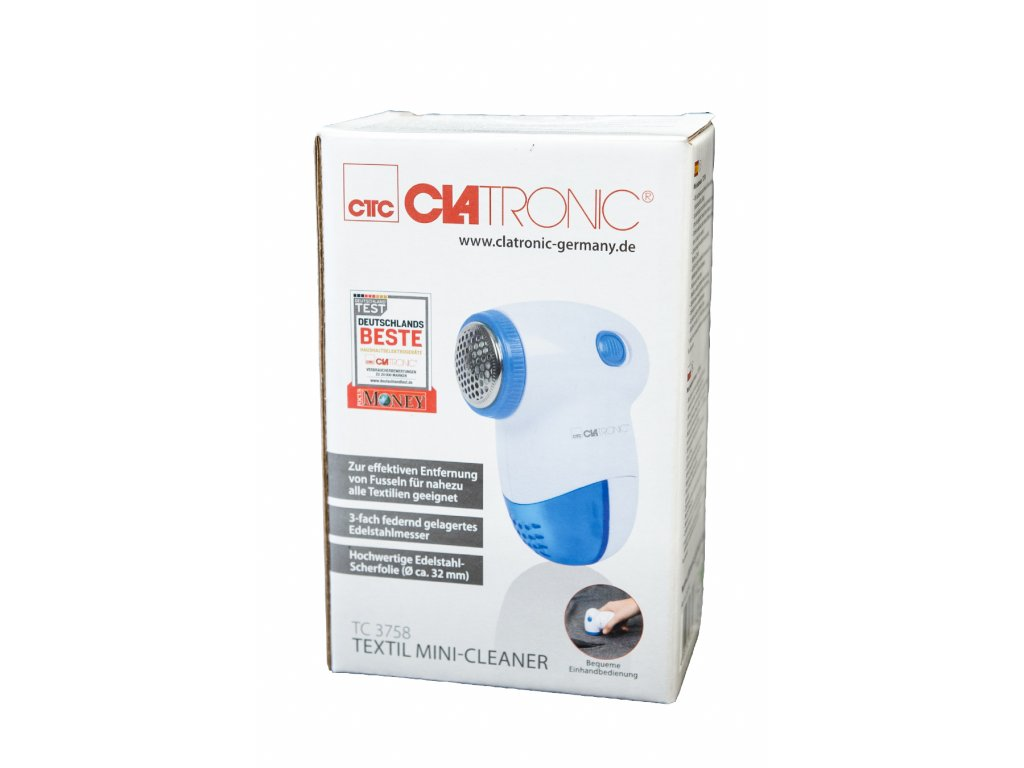 Odstraňovač žmolků odžmolkovač Clatronic TC 3758