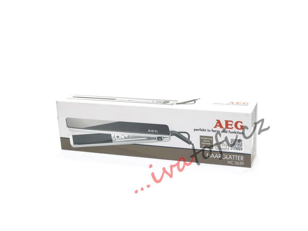 Žehlička na vlasy AEG HC 5639 černá