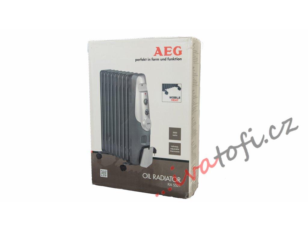Olejový radiátor AEG RA 5522