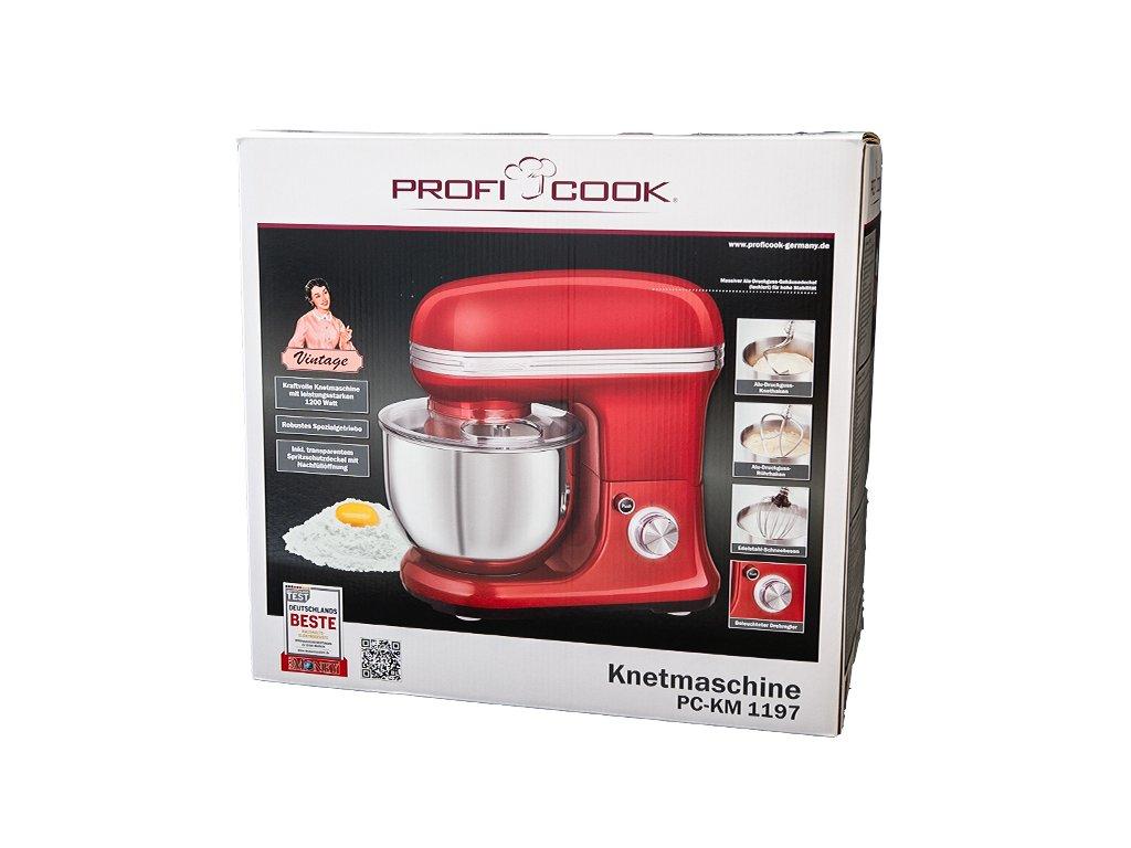 Kuchyňský robot Proficook PC-KM 1197 červený