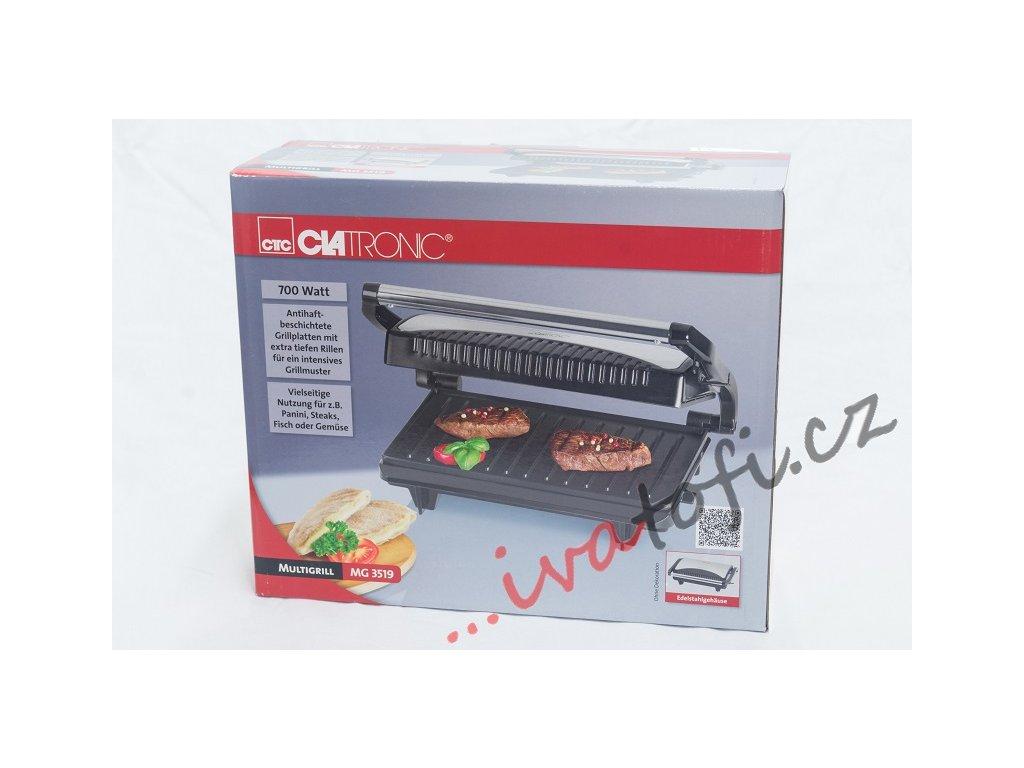 Kontaktní gril Clatronic MG 3519