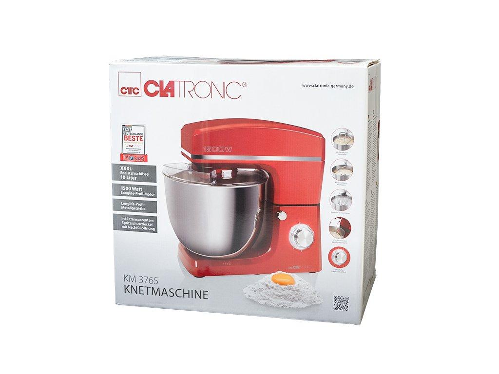Kuchyňský robot Clatronic KM 3765 červený