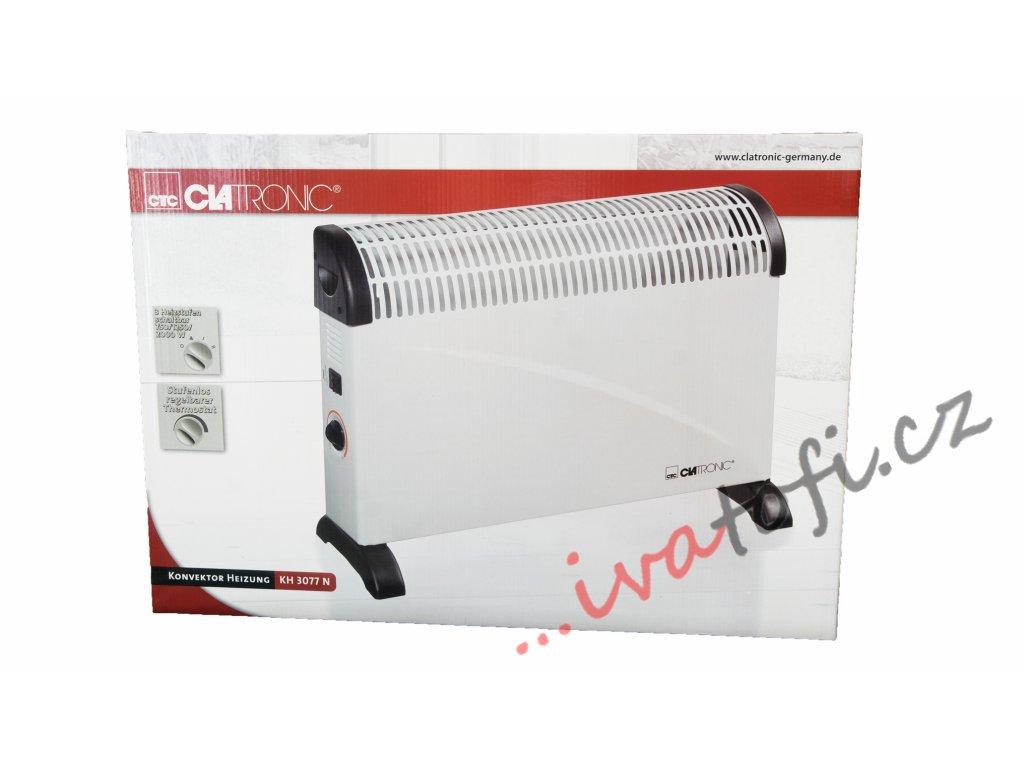 Elektrické konvektorové topení Clatronic KH 3077