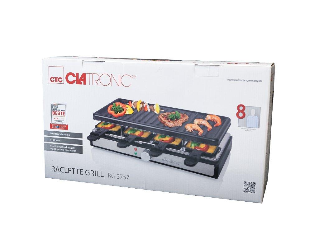Elektrický stolní raclette gril Clatronic RG 3757