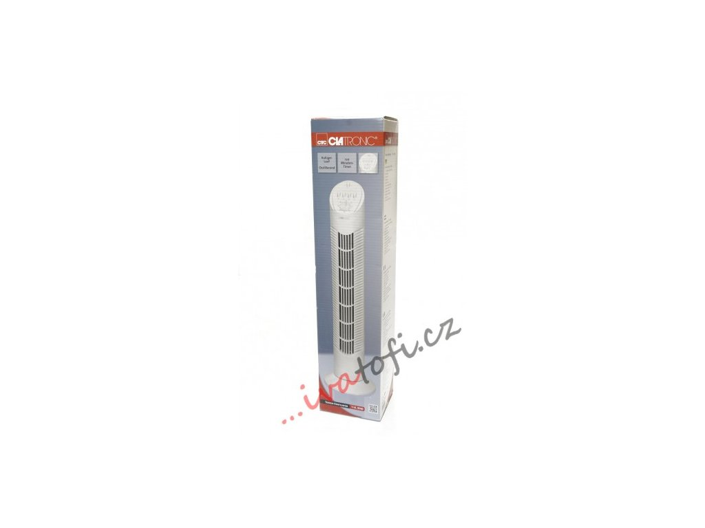 Sloupový stojanový ventilátor Clatronic T-VL 3546 bílý