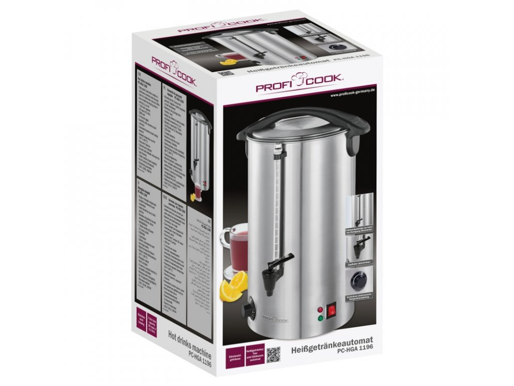 Automat na horké nápoje Profi Cook PC-HGA 1196