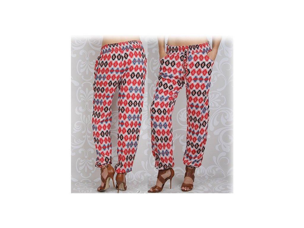 Dámské kalhoty styl harémky