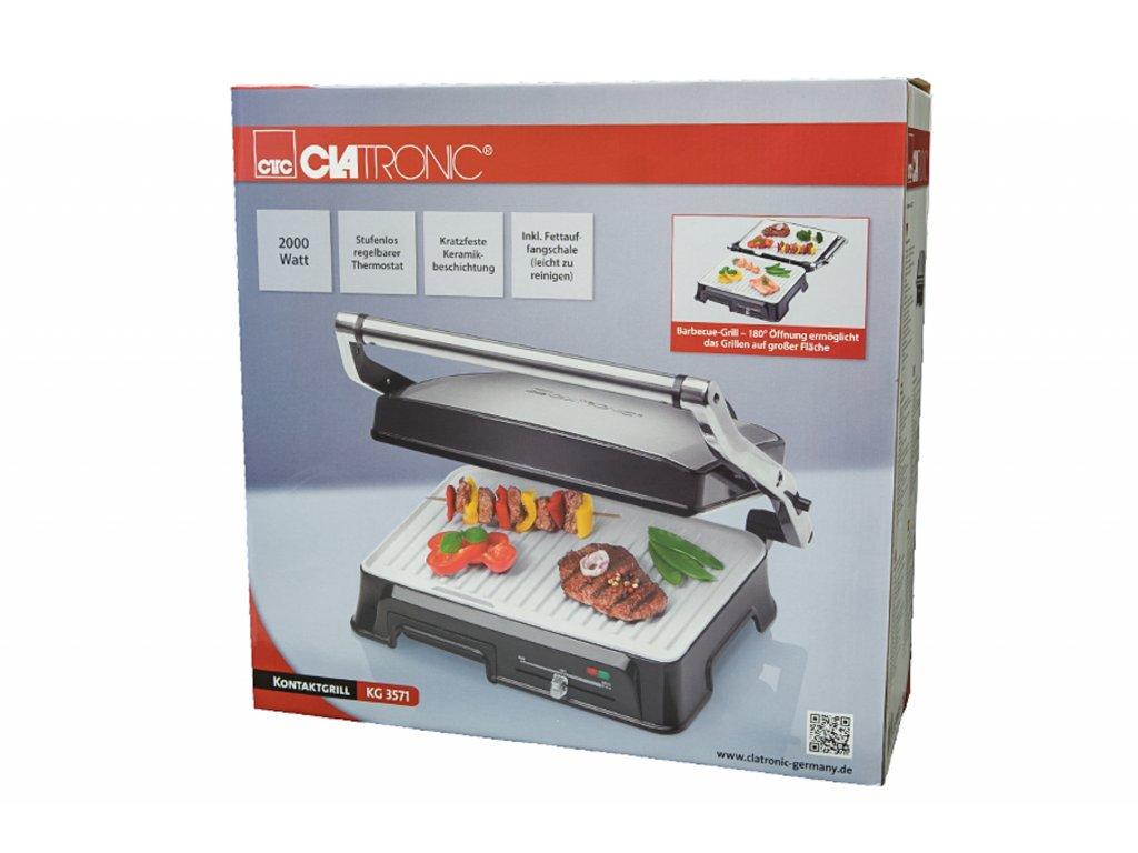 Kontaktní gril Clatronic KG 3571