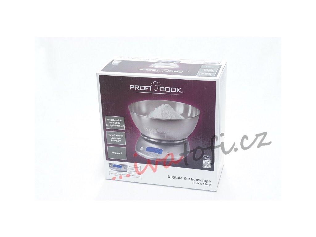 Kuchyňská digitální váha Profi Cook PC-KW 1040