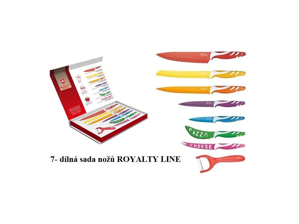 7-dílná sada nožů Royalty Line