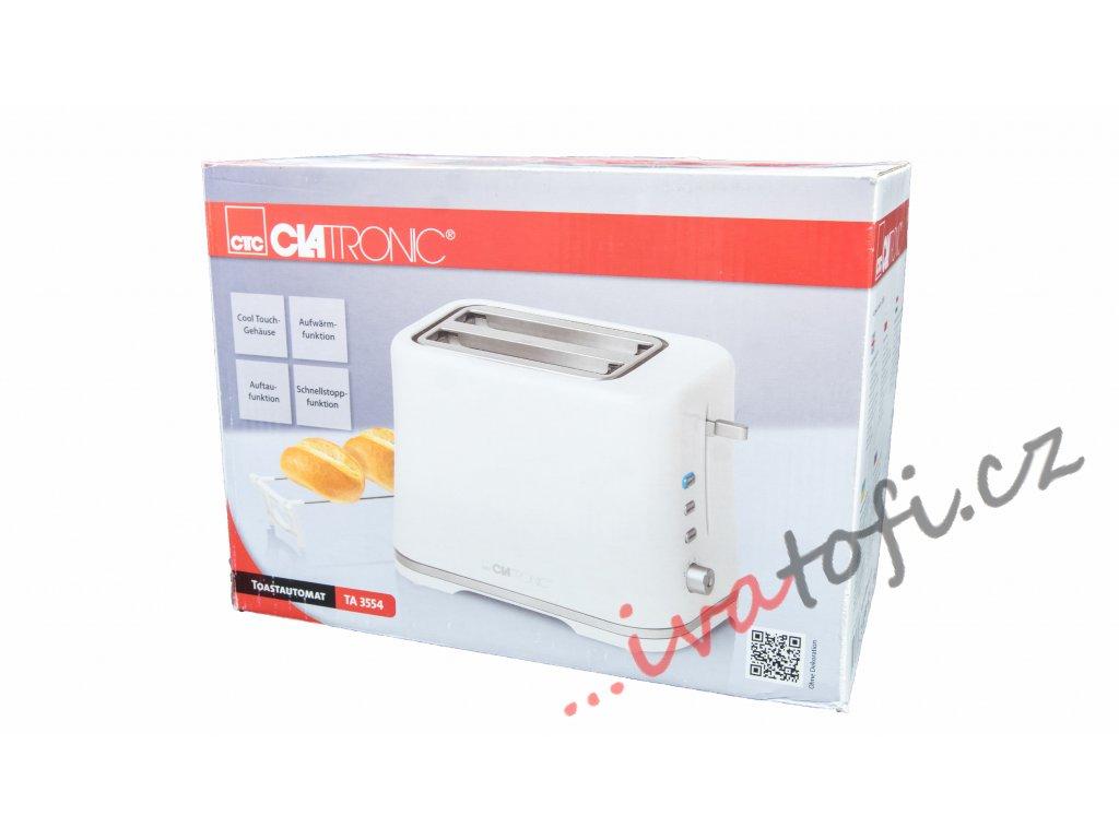 Topinkovač toaster Clatronic TA 3554 bílý