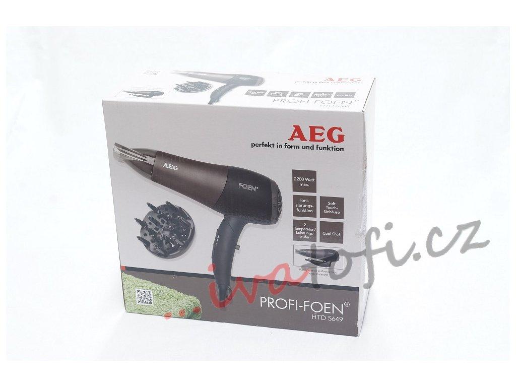 Vysoušeč vlasů fén AEG HTD 5649
