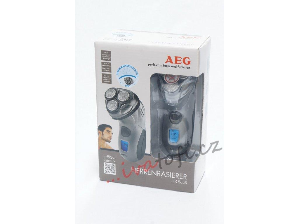 Holící strojek AEG HR 5655 Antracit