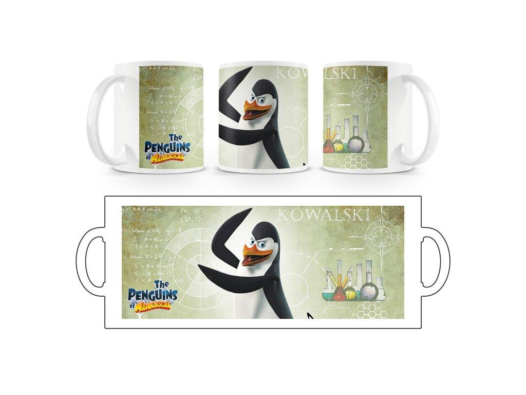 Hrnek hrníček Tučňáci Madagaskar 8
