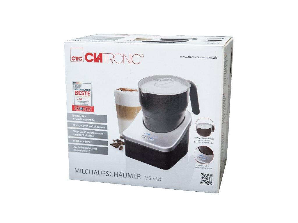Výrobník mléčné pěny, pěnič mléka Clatronic MS 3326