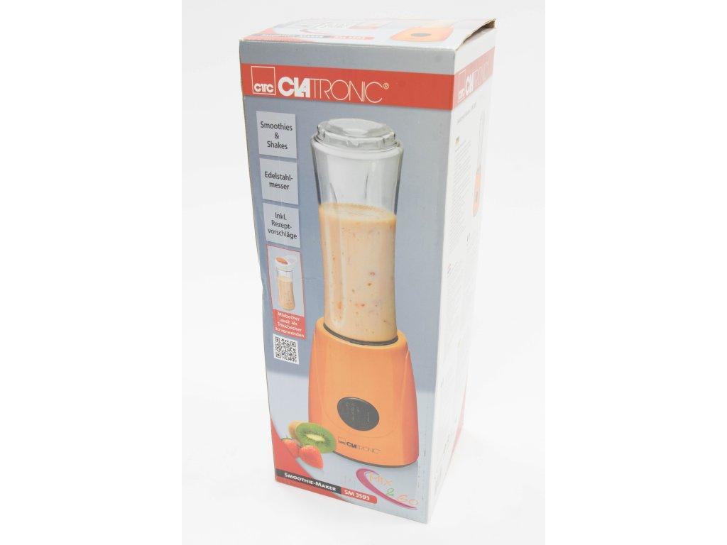Mixér smoothie maker Clatronic SM 3593 oranžový