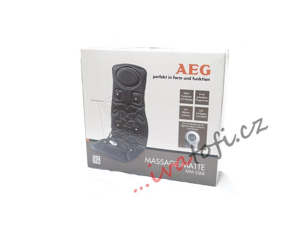 Vibrační masážní podložka AEG MM 5568