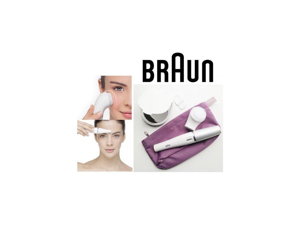 Epilátor na obličej Braun Face 830 s čistícím kartáčkem - ivatofi.cz eb8fbfe123