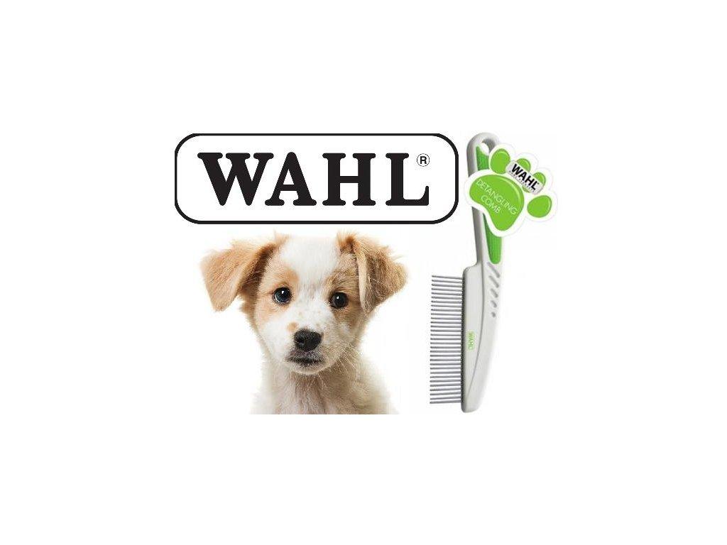 Hřeben pro odstranění línající srsti a vyčištění podsady srsti Wahl 858458-016