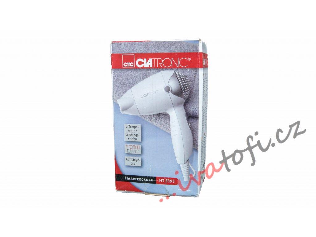 Cestovní vysoušeč vlasů fén CLATRONIC HT 3393
