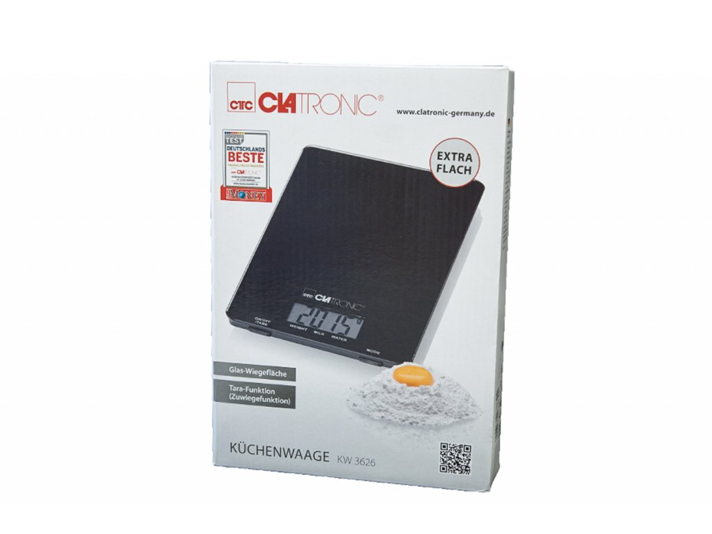 Kuchyňská digitální váha Clatronic KW 3626