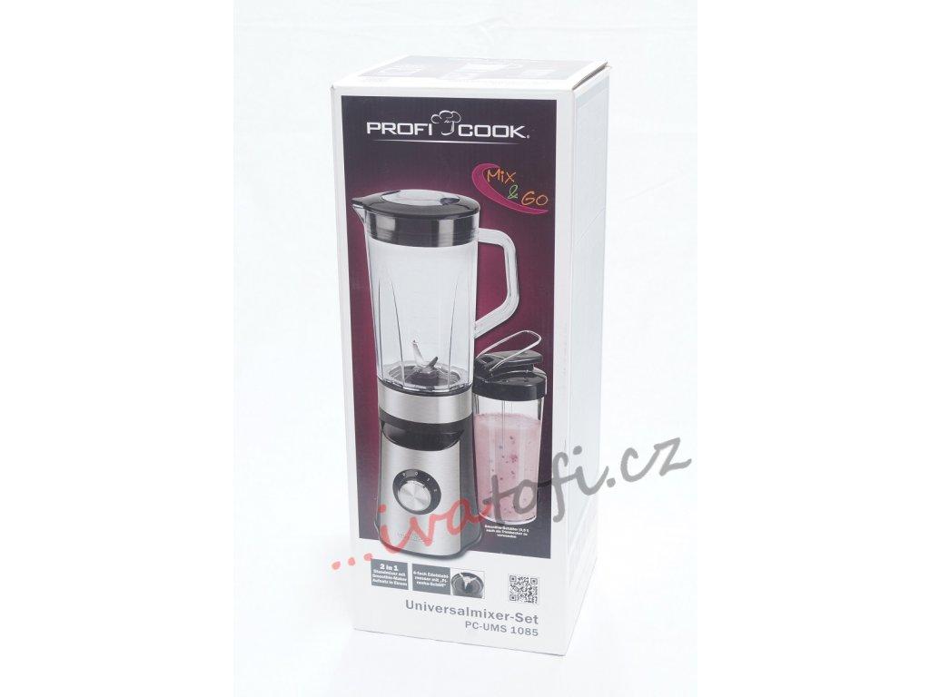 Kuchyňský mixer 2v1 smoothie maker Profi cook PC-UMS 1085