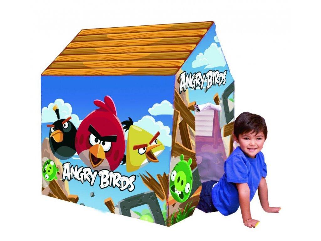 Dětský stan domek Angry Birds od Bestway 96115