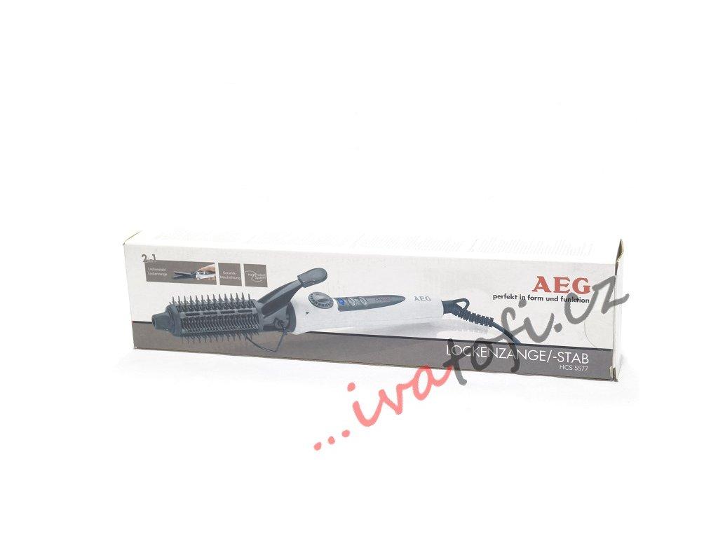 Kulma 2v1 na vlasy AEG HCS 5577  bílá